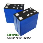 Batería prismática LiFePO4 3.2V 120AH para motocicleta del sistema solar UPS