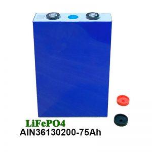 Batería prismática LiFePO4 36130200 3.2V 75AH