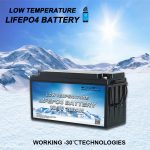 Presentamos las baterías TODO EN UNO de fosfato de hierro y litio de baja temperatura