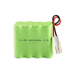 Batería recargable NiMH AA2400 9.6V