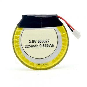 Batería LiPO personalizada 363027 3.7V 225mAH