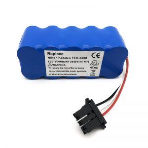 Batería 12v ni-mh para aspiradora TEC-5500, TEC-5521, TEC-5531, TEC-7621, TEC-7631
